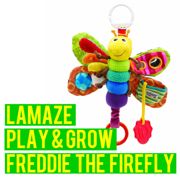 a mum reviews lamaze play and grow freddie the firefly review