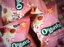 Organix Finger Foods Multigrain Hearts With Strawberry Review A Mum Reviews