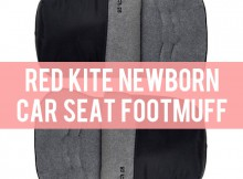 Red Kite Newborn CAR SEAT FOOTMUFF review A Mum Reviews