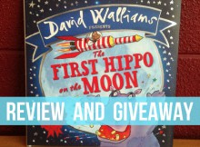 The First Hippo on the Moon by David Walliams Review and Giveaway A Mum Reviews