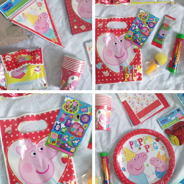 Party Bags Supplies Peppa Pig Complete Birthday Party Kit Review