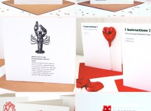 Luxury Handmade Valentine's Day Cards From Made With Love A Mum Reviews