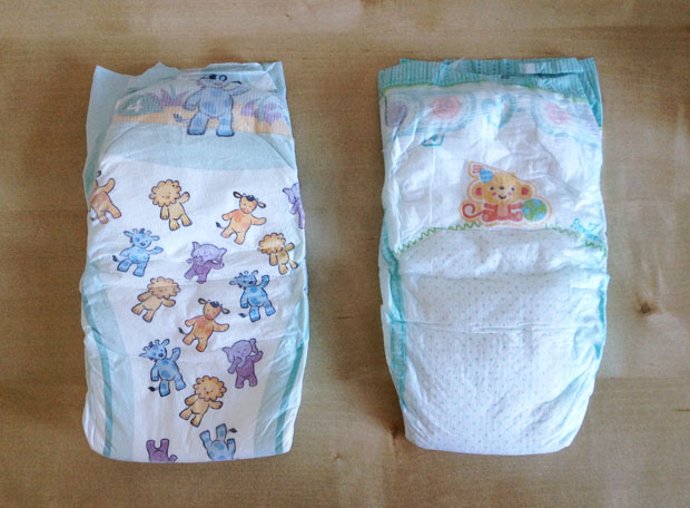 Mamia and Pampers Nappies Size 4 - Reviews & Comparisons A Mum Reviews