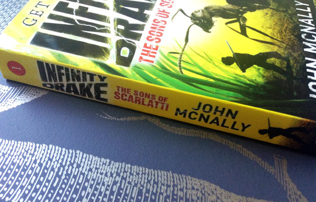 Book Review & Giveaway: The Sons of Scarlatti - Infinity Drake Book 1 by John McNally A Mum Reviews