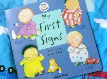 My First Signs (Baby Signing) Book Review A Mum Reviews