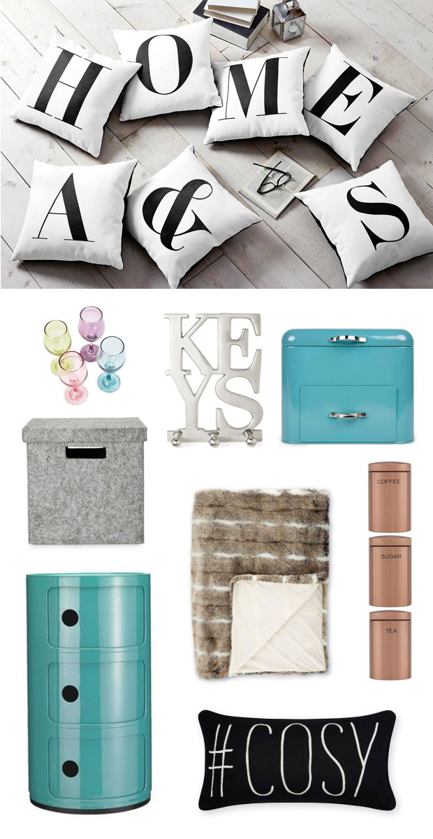 NEXT Home Wish List - Storage and Cosy Details A Mum Reviews