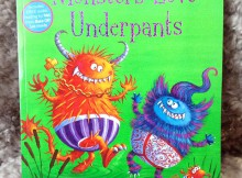 Monsters Love Underpants Review A Mum Reviews