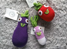 Myum Crocheted Vegetables (From Tendre Deal) Review A Mum Reviews