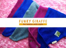 Funky Giraffe Bamboo Bibs Review + Giveaway A Mum Reviews