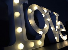 LOVE Shaped Wall Hanging Light Review - Valuelights A Mum Reviews