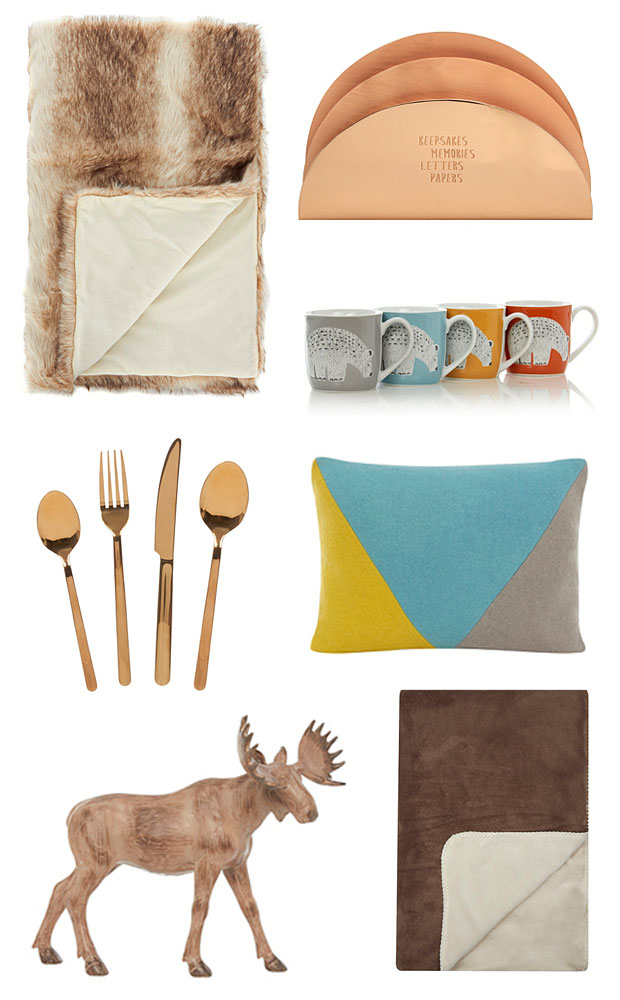 Asda george wish list autumn 2015 home accessories