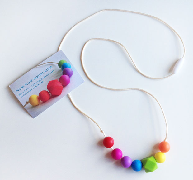 Num Num Necklaces Review - Baby-Safe, Chewable Jewellery A Mum Reviews