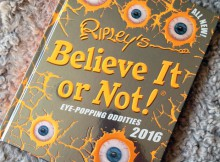 Book Review: Ripley's Believe It or Not! 2016 Annual A Mum Reviews