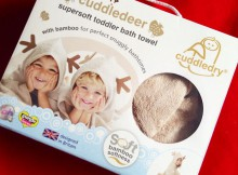 Cuddledry's Cuddledeer Toddler Towel Review A Mum Reviews