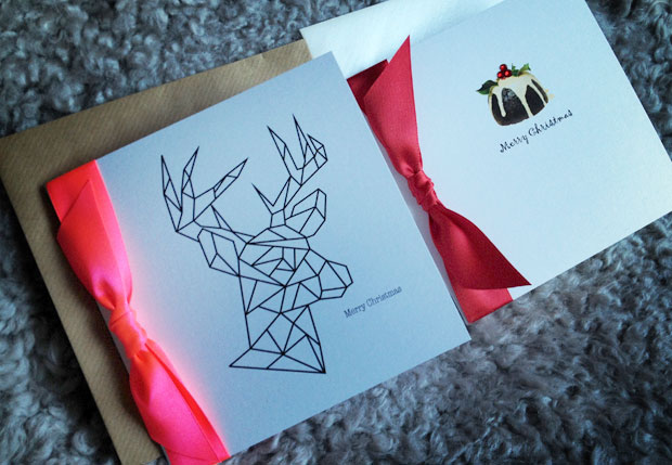 luxury handmade christmas cards from made with love - Luxury Photo Christmas Cards
