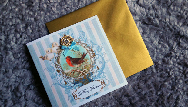 Luxury Handmade Christmas Cards From Made With Love - A Mum Reviews