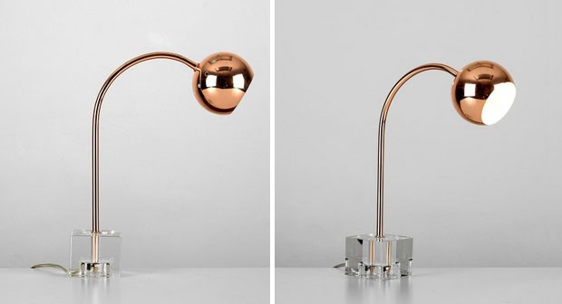 Copper Table Lamp with Ice Block Base Review – Valuelights A Mum Reviews