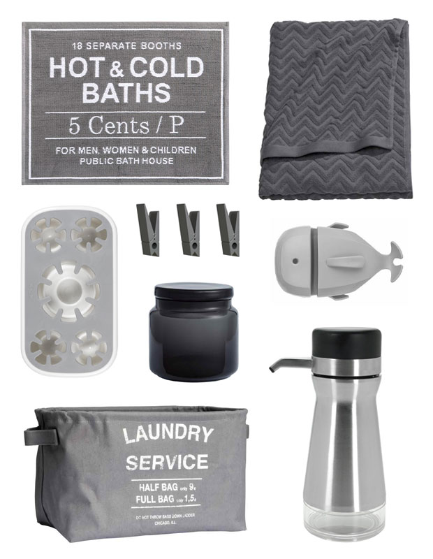 grey bathroom accessories inspiration a mum reviews - White Bathroom Accessories Uk