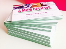 Aura Print Digital Impakt Colour Core Business Cards Review A Mum Reviews