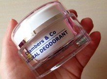 Chambers & Co Natural Deodorant Review A Mum Reviews
