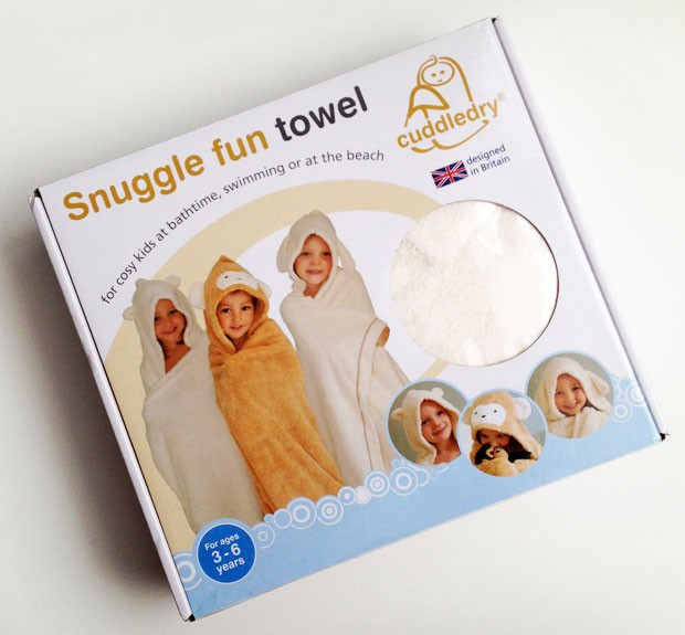 Cuddledry Snuggle Bunny Children's Towel Review A Mum Reviews