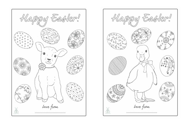 Free Easter Colouring In Activity Sheets A Mum Reviews