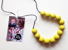 La La Beads Silicone Teething Necklace Review + Giveaway A Mum Reviews