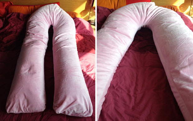 Pregnancypillows.net Premium U-Shaped Pregnancy Pillow Review A Mum Reviews