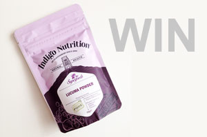 Win Indigo Herbs Lucuma Powder!