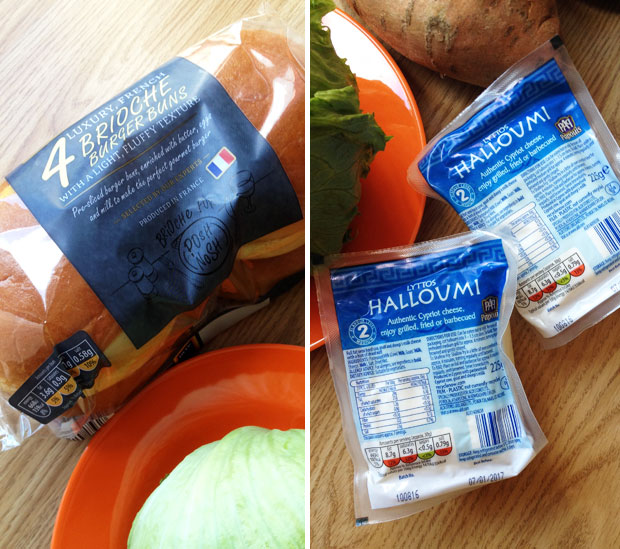 Recipe: Delicious Halloumi & Portobello Mushroom Burgers A Mum Reviews