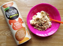 Sown & Grown Cereals Nuts & Seeds Multigrain Granola Review A Mum Reviews