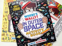 Book Review: Where's Wally Activity and Colouring Books A Mum Reviews