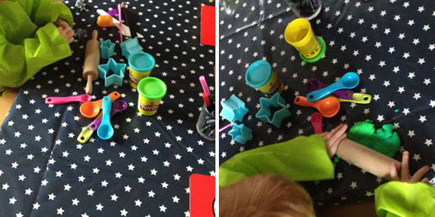 Messy Me Oil Cloth Review - For Fun & Messy Play A Mum Reviews