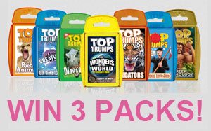Win Top Trumps Packs!