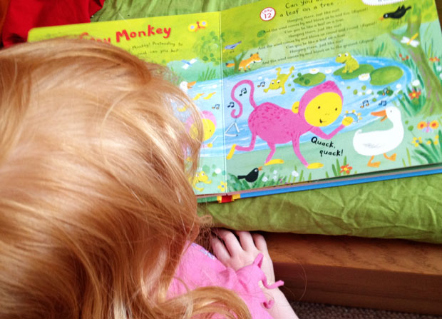 Monkey Music: Let's Sing and Play Board Book & CD Review A Mum Reviews