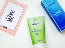 Naturally Better You, Weleda Skincare & Me-Time A Mum Reviews