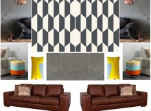 Autumn Interior Inspiration Mood Board / A Retro Family Living Room A Mum Reviews
