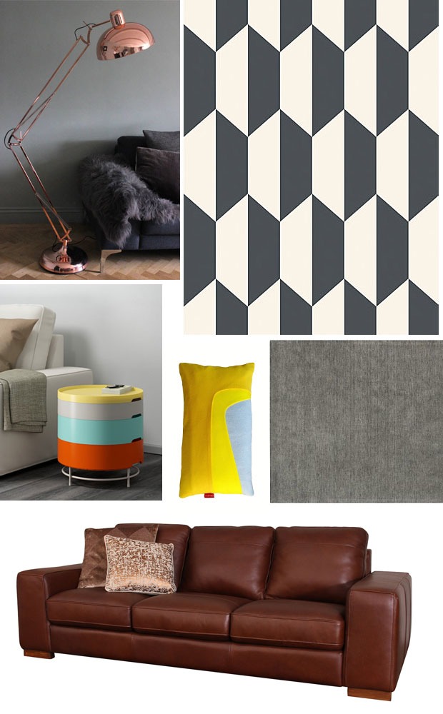 Autumn Interior Inspiration Mood Board A Retro Family Living Room Mum Reviews