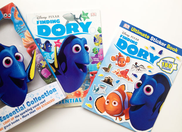 DK Books Disney Pixar Finding Dory Essential Guide & Collection A Mum Reviews