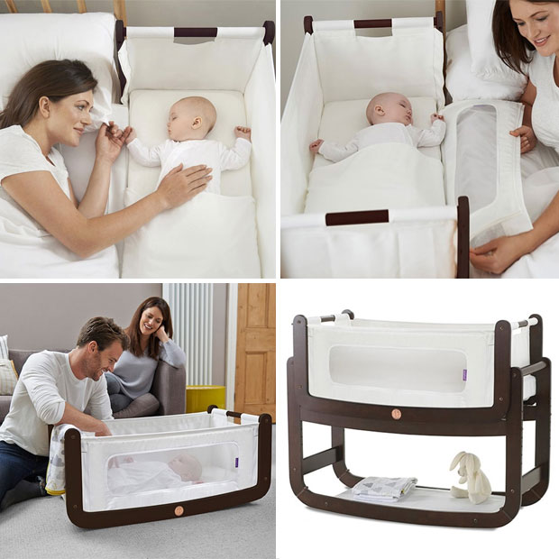 SnüzPod Bedside Crib Review - The 3 in 1 Bedside Co-Sleeping Crib A Mum Reviews