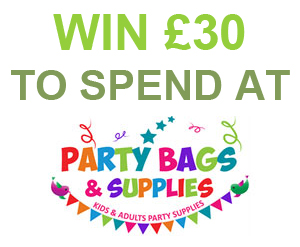Win £30 to spend at Party Bags & Supplies!