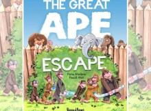 Book Review: The Great Ape Escape by Fiona Manlove A Mum Reviews