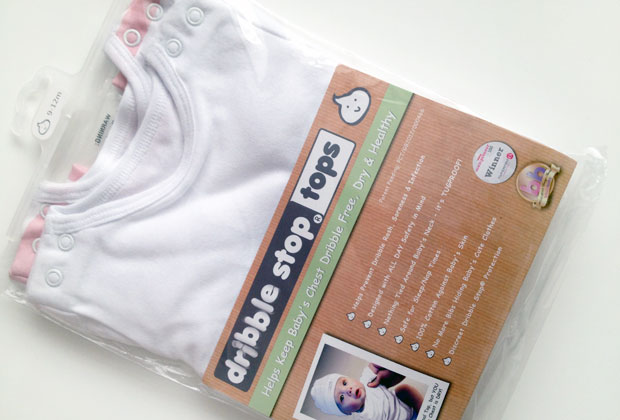 Dribble Stop Tops Review - Keep Your Drooling Baby's Chest Dry! A Mum Reviews