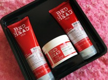TIGI Bed Head Resurrection Gift Set Review / A Treat for Damaged Hair A Mum Reviews