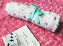 aden + anais Gold Metallic Classic Muslin Swaddles Review A Mum Reviews