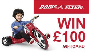 Win £100 to Spend with Radio Flyer!