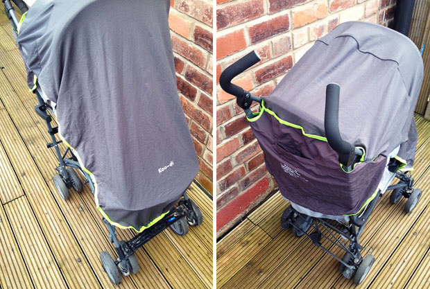 Koo-di Sun & Sleep Stroller Cover Review - For All Year Protection A Mum Reviews