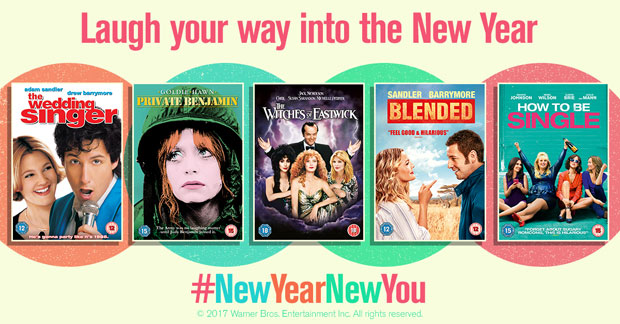 Laugh Your Way into the New Year - Win DVD Bundle! #NewYearNewYou A Mum Reviews