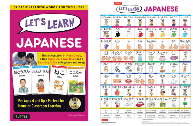 Tuttle Publishing Let's Learn Japanese Kit Review A Mum Reviews