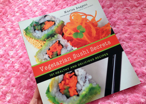 Book Review: Vegetarian Sushi Secrets by Marissa Baggett A Mum Reviews
